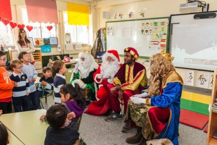 Los RRMM y Papá Noel en INF 5B 13