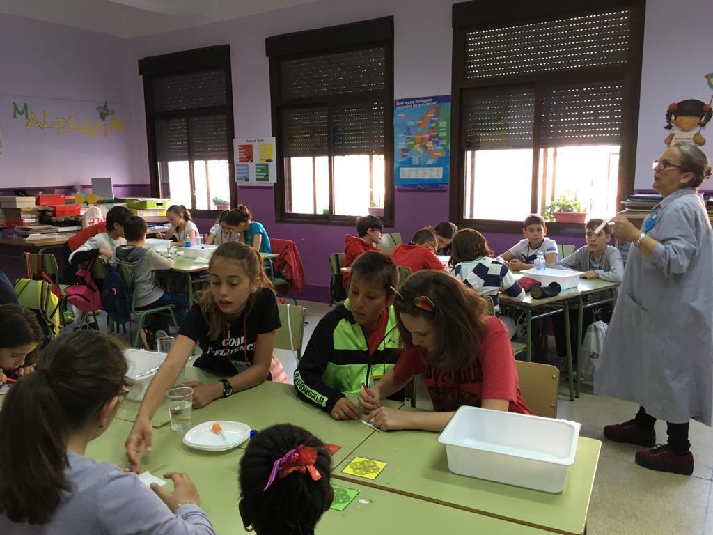 Jornadas Culturales 18-19. Talleres Berceo I A . 3º - 6º 19