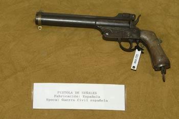 Pistola de señales, Museo del Aire de Madrid