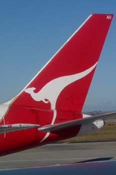 Logotipo de Quantas, Australia