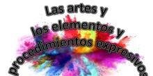 Las artes y los elementos y procedimientos expresivos