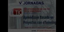 """Ponencia de Dª Mª Goretti Alonso de Castro:""""Aprendizaje basado en Proyectos con eTwinning"""""""
