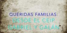 Mensaje a las familias