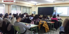 ponencia impartida por el Director del Colegio Maestro Rodrigo de Aranjuez