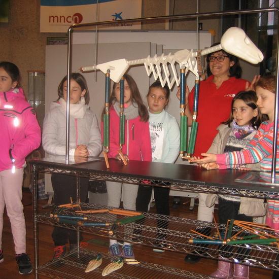 VISITA AL MUSE DE CIENCIAS 3ºA 15