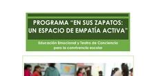 """Informe resultados e impacto proyecto """"En sus zapatos"""""""