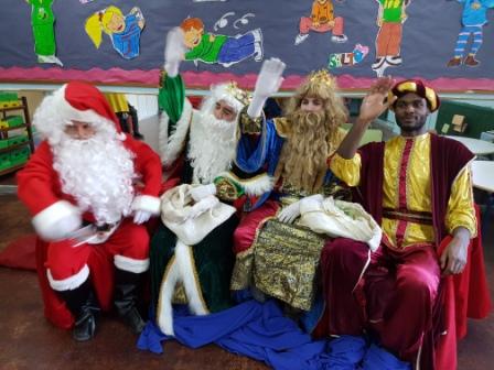 Los RRMM  Papá Noel en 1º (1) 2