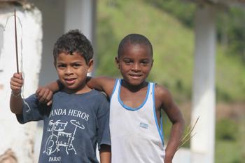 Niños de Quilombo, Sao Paulo, Brasil