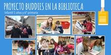 Proyecto Buddies en la biblioteca 5 años y 6º (febrero 2018)