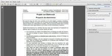 3º ESO / Proyecto de electronica analogica y digital - 1 - Descripción y Paso 1
