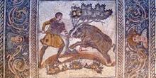 Mosaico en el Museo Romano de Mérida, Badajoz