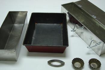 Moldes, vista general de distintos tipos de moldes