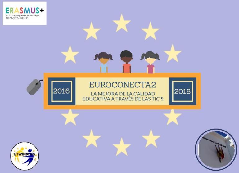 Cartel Proyecto Erasmus+ Ceip Carlos Ruiz Navalcarnero