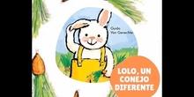 Lolo, un conejo diferente
