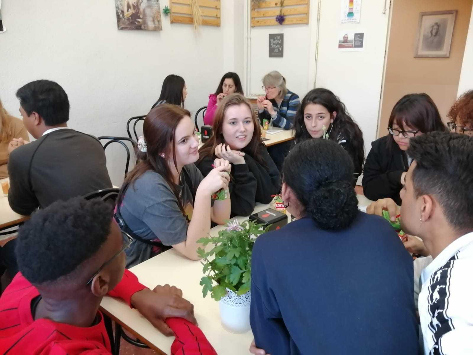 Visita de alumnos daneses al instituto 8