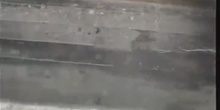 Traza de una partícula en una cámara de niebla casera