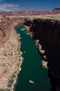 Río Colorado, Norteamérica