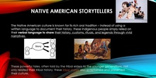 Native American Storytellers