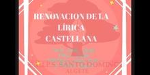 SECUNDARIA 3º - RENOVACIÓN DE LA LÍRICA EN EL RENACIMIENTO - LENGUA Y LITERATURA