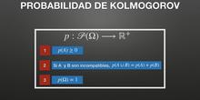 Probabilidad de Kolmogorov