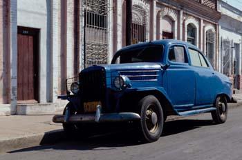 Calle típica, Cuba