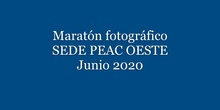 11 Maratón Fotográfico Sede Oeste PEAC 2020
