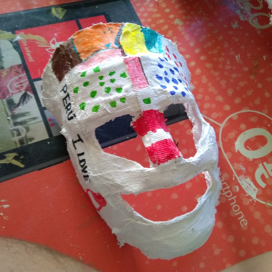Máscaras de escayola 9