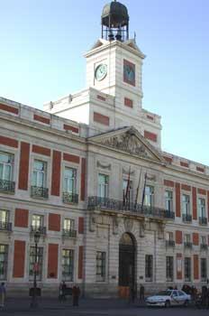 Casa de Correos, Sede de la Presidencia de Madrid