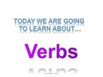 1. all verbs