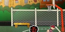 El jugador de Baloncesto