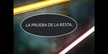 PRIMARIA - PRUEBA DE LA RESTA - P. T. - FORMACIÓN