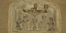 Grabado crucificción, Huesca