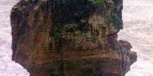 Roque kárstico de gran tamaño, Nueva Zelanda