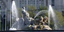 Fuente de Cibeles, Plaza de Cibeles, Madrid