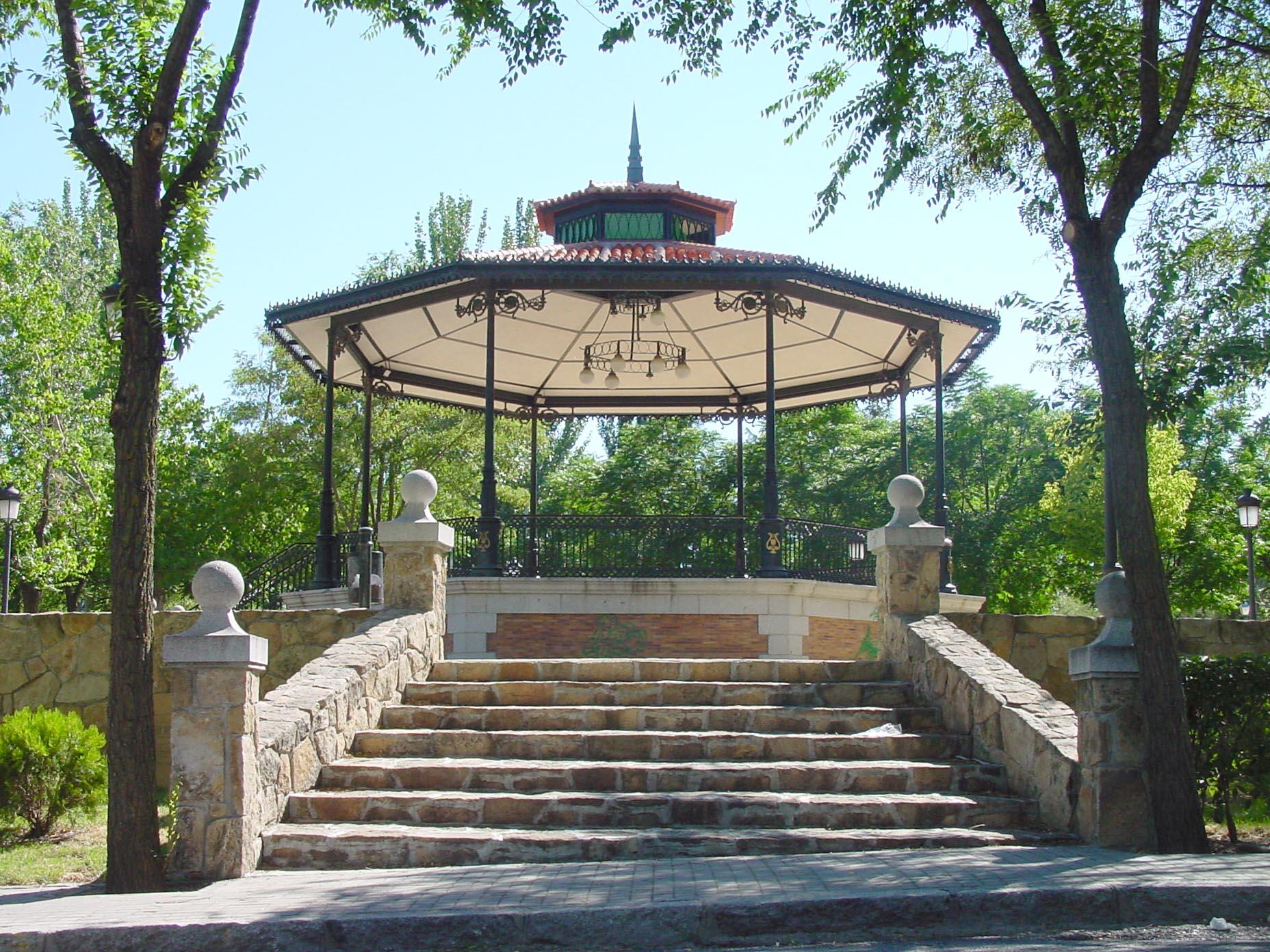 Templete del Parque Municipal de Brunete