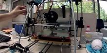 Impresión 3D de pieza para GoPro con TimeLapse