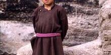 Alumno del gompa de Leh, encargado de facilitar el acceso a los