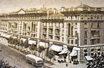 Imagen antigua de una ciudad
