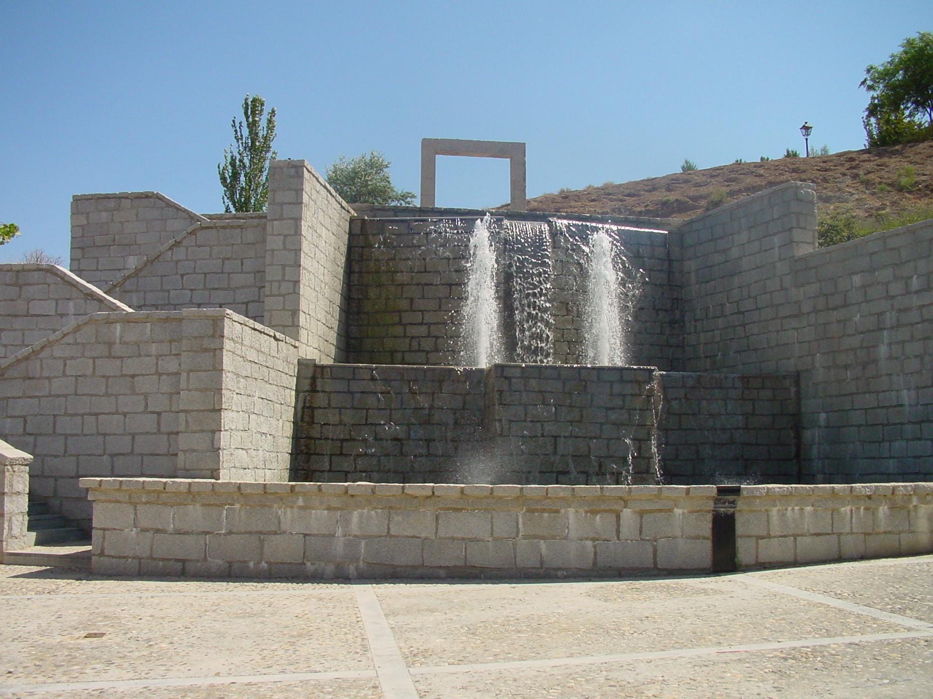 Fuente en Villalbilla