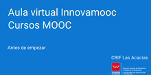Antes de empezar. MOOC