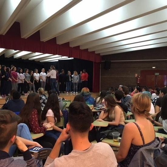 Visita al instituto de alumnos del instituto de secundaria 'Gimnasium Kalundborg' de Dinamarca 2