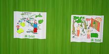Letrinas nuevas, Campamento de pescado, Alunaga, Sumatra, Indone