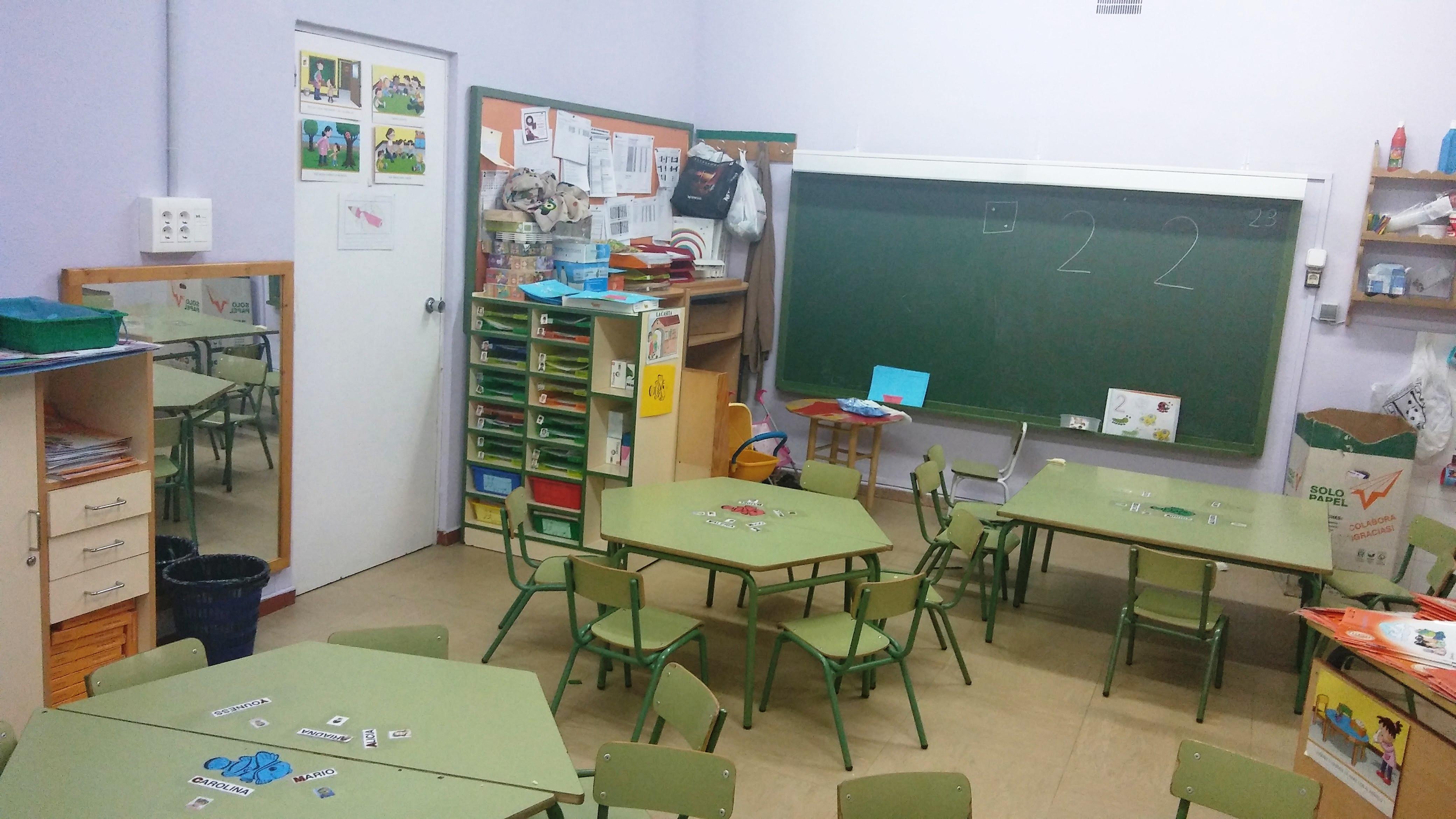 Aulas de Infantil 9