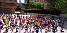 Baile día jornada deportiva