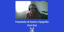 CSS3 - Propiedades fuentes (Font-size)