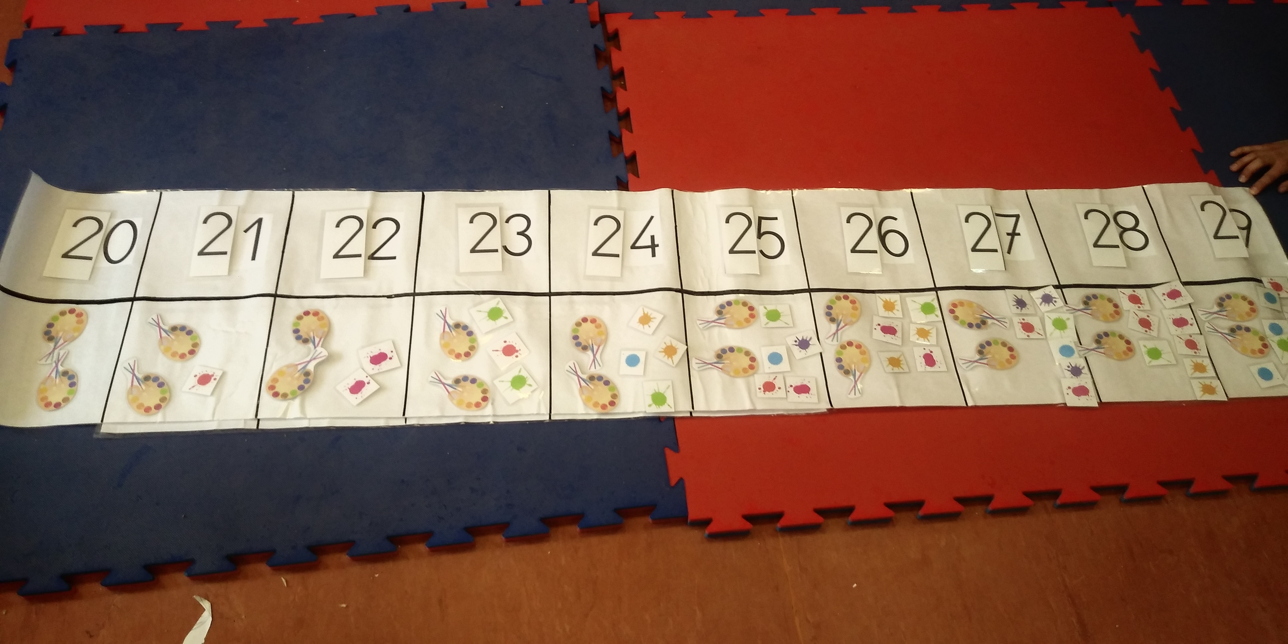 rectas numéricas 1