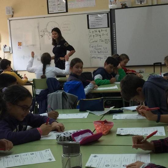2019_10_5ºB_Educación Vial_CEIP FDLR_Las Rozas 4