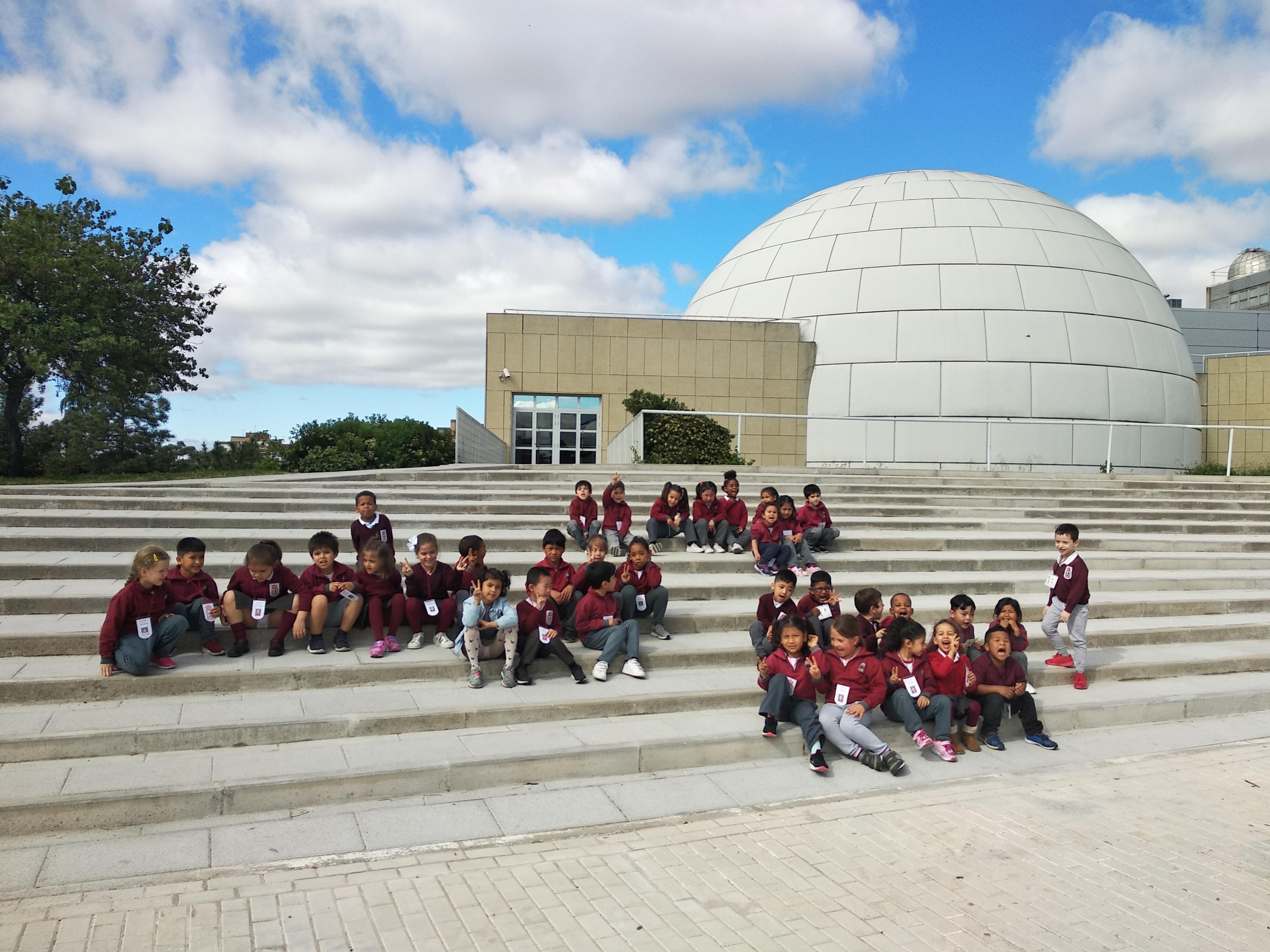 Visita al Planetario (Ed. infantil)  3