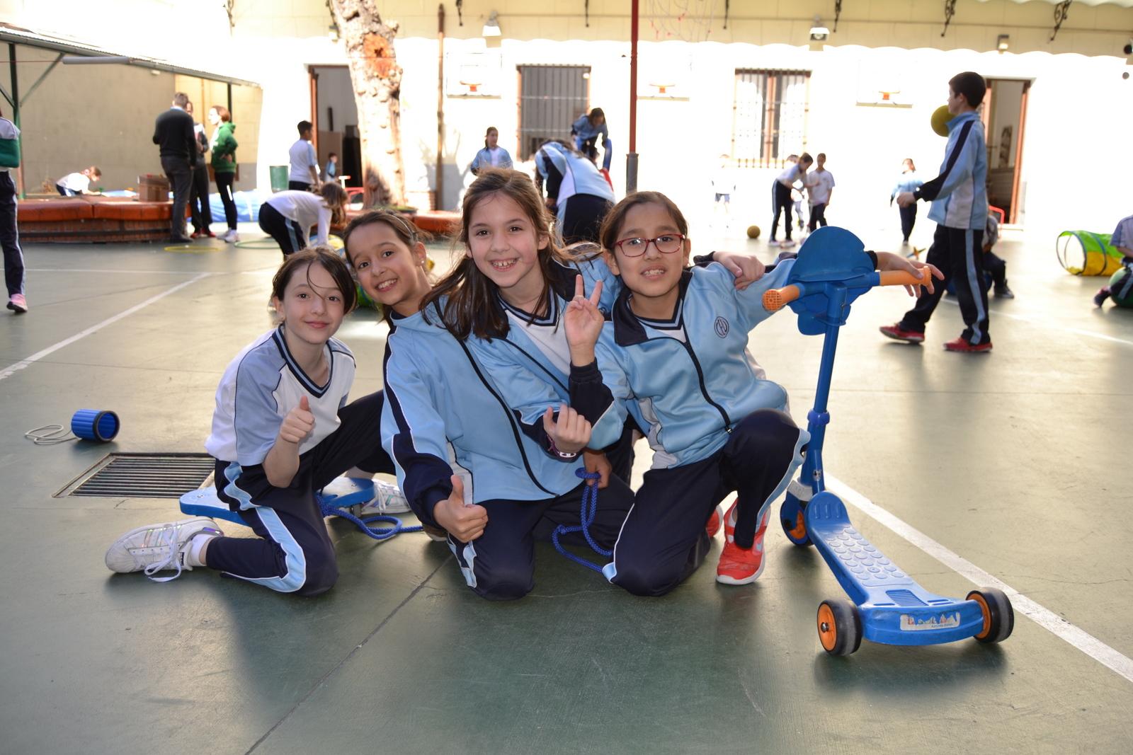 JORNADAS CULTURALES 2019: Juegos 3º y 4º Edu. Primaria 8