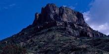 Pico de una montaña